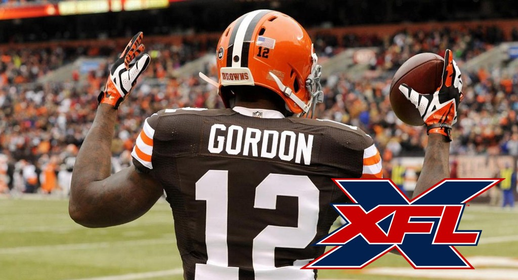 What are the odds that Josh Gordon joins the XFL?