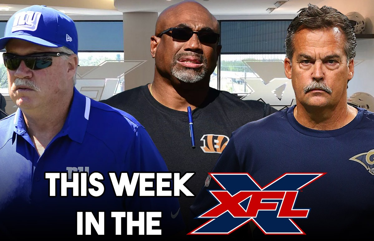 This Week in the XFL | Duch, Gilbride, Hayes.... Fisher?