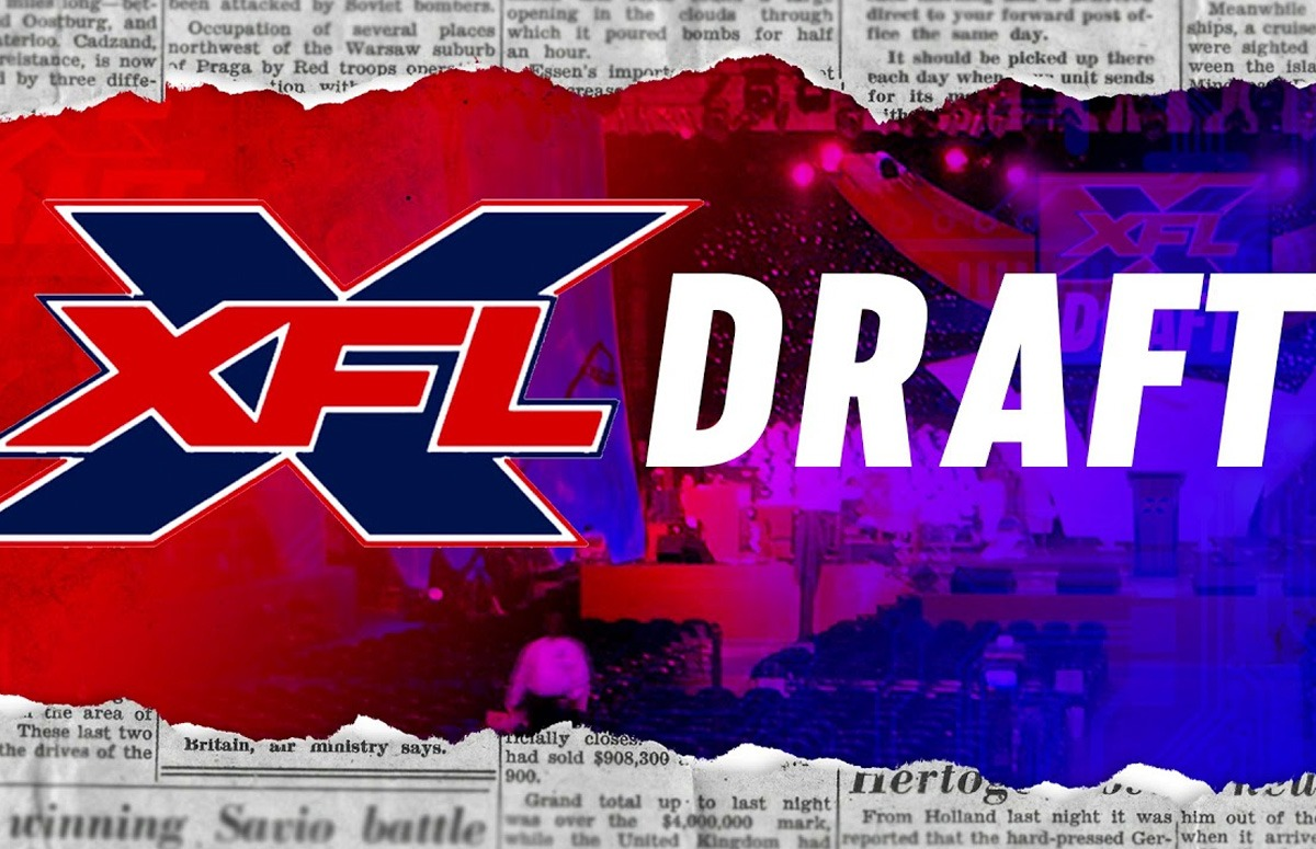 XFL Coach says draft coming in October