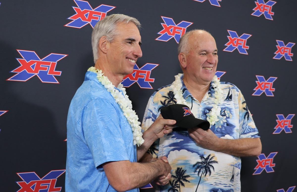 June Jones officially named Head Coach/GM of XFL Houston | XFL2k