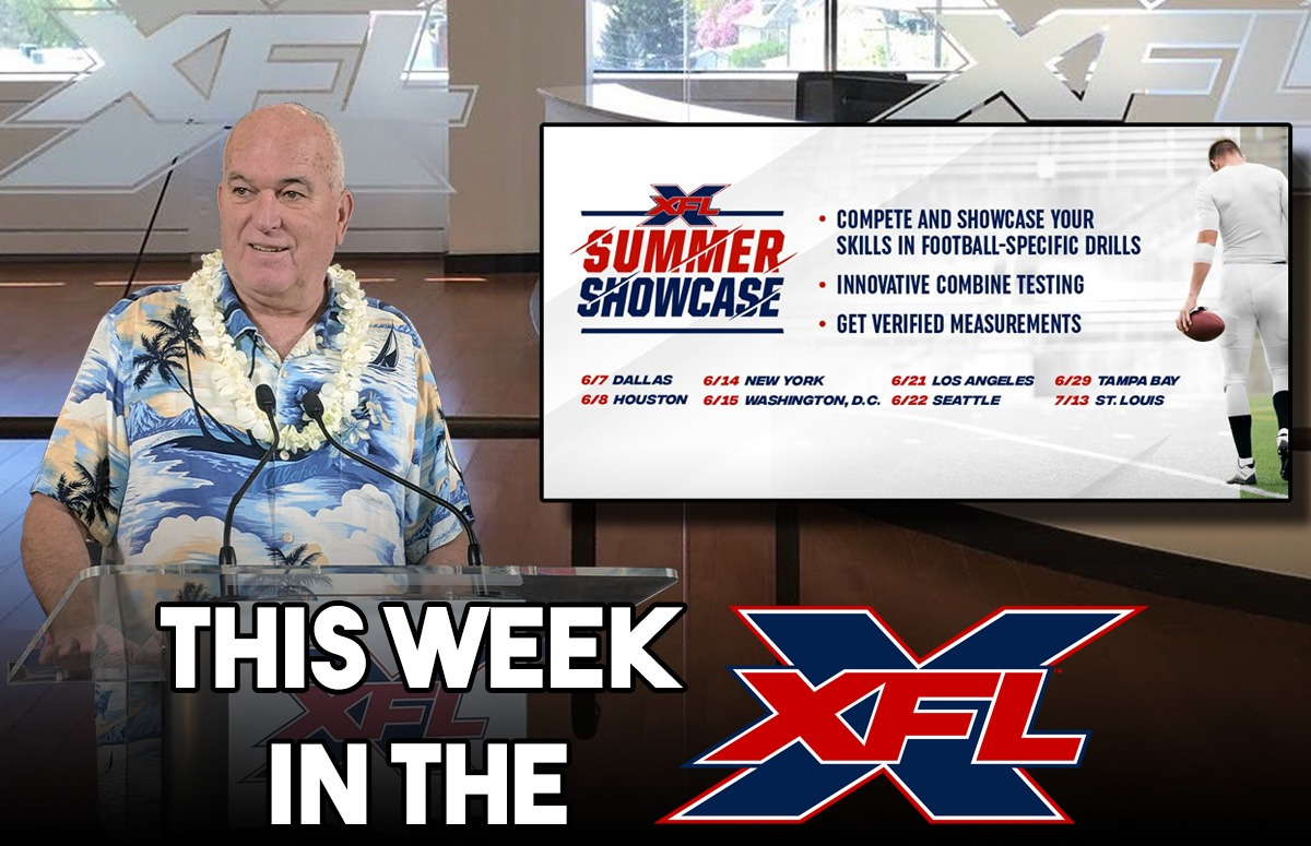 This Week in the XFL | Houston Presser, Mass Hires, Summer Showcase Details!