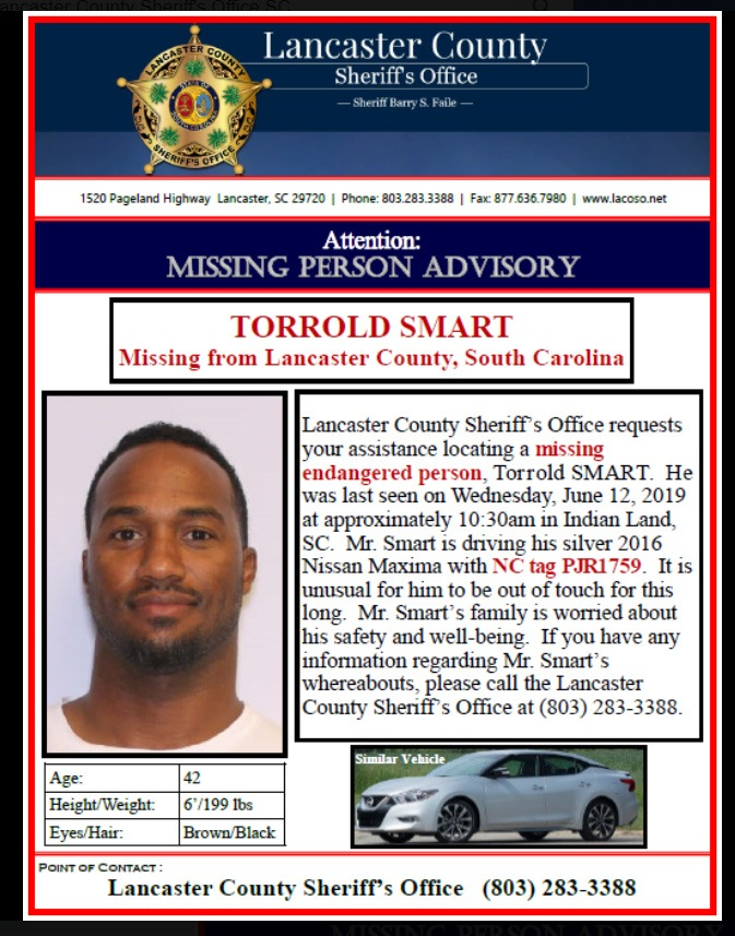 Former NFL Running Back Rod Smart Missing, Police Seek Assistance