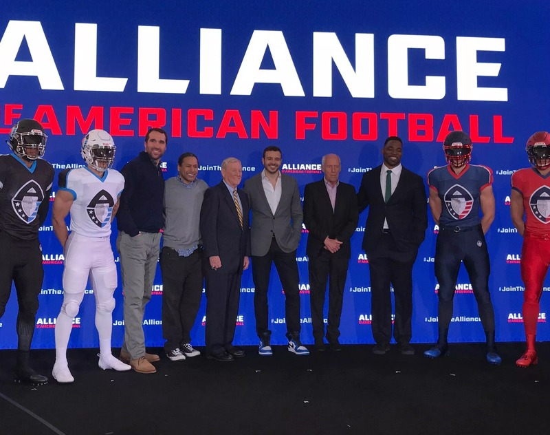 Another company competing with the XFL over AAF assets