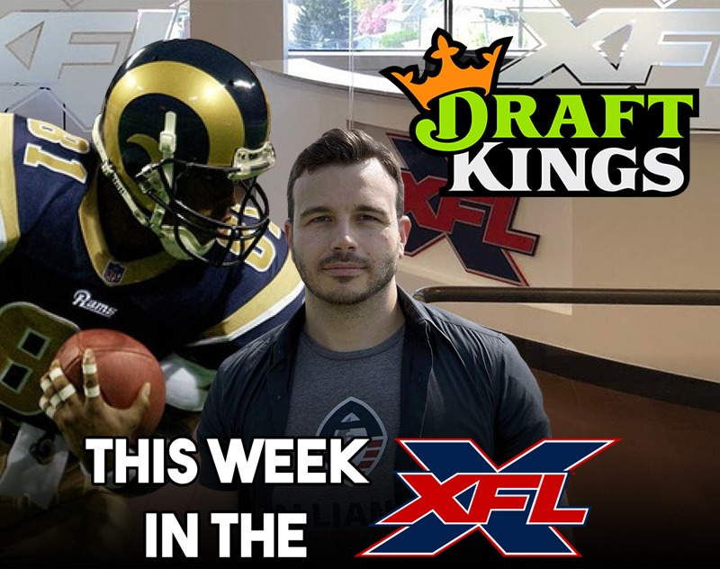 This Week in the XFL | DraftKings, Team Name Timing, Ebersol Responds
