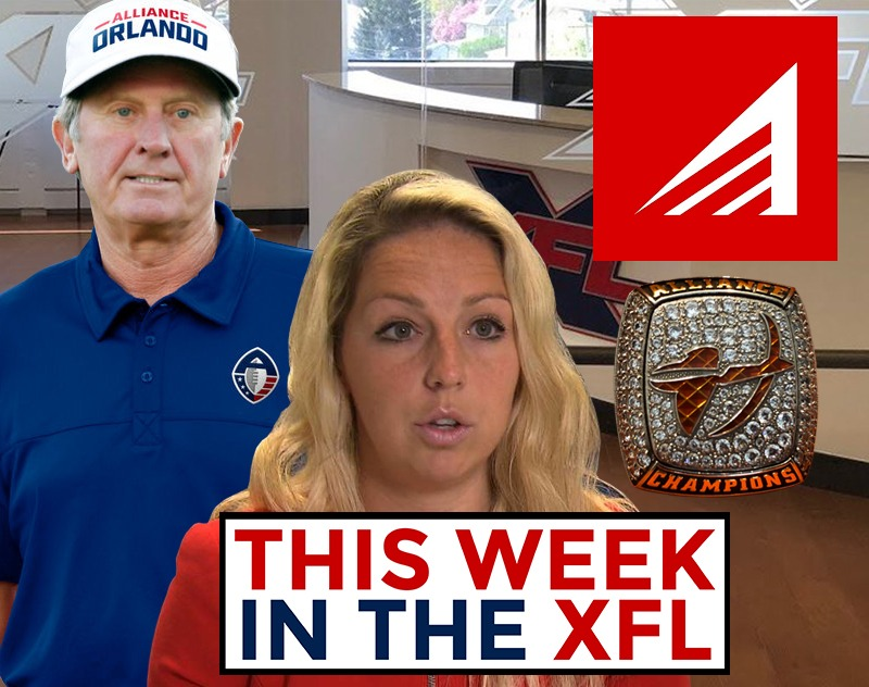 This Week in the XFL | XFL Departures, New Trademarks and Spurrier receives AAF Championship Ring