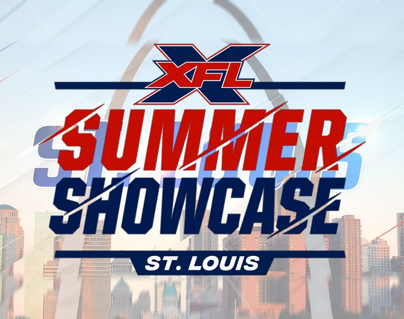 Rosters revealed for XFL St. Louis Summer Showcase
